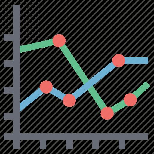 analysis, analytics, chart, chart info, diagram, graph, pulse chart, statistics icon