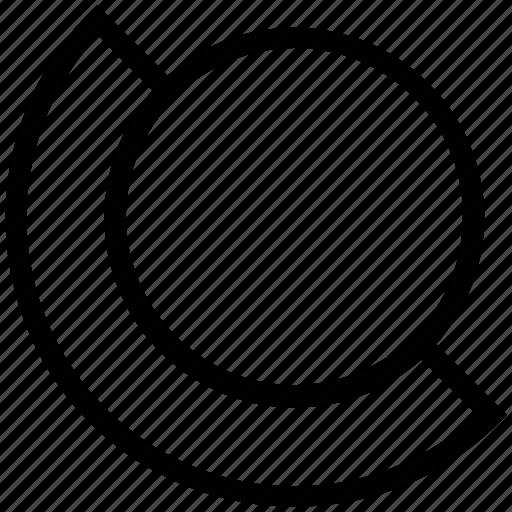 analytics charts, circle chart, circular graph, diagram, pie chart icon