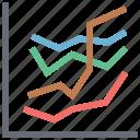 business chart, data analytics, graph, plot chart, puls, puls chart, report