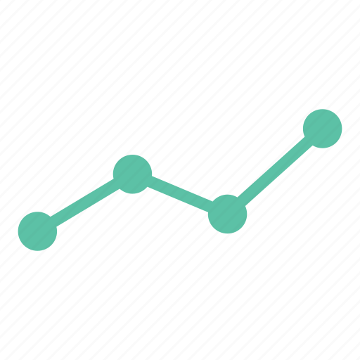 analytics, chart, data, diagram, line graph, report, statistics icon