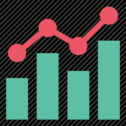analytics, bar chart, chart, data, report, statistics icon
