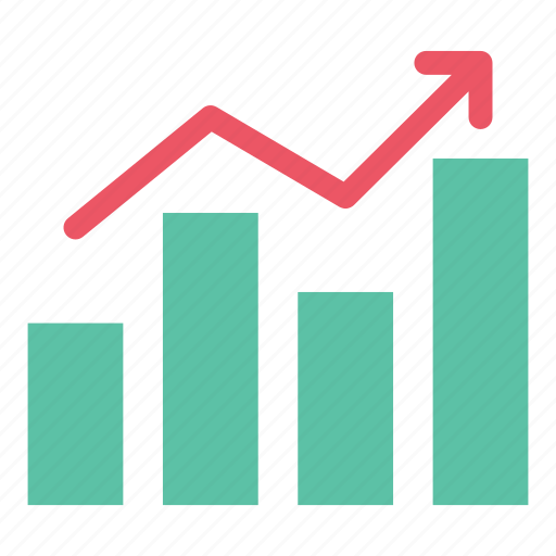 analytics, bar chart, chart, data, growth, report, statistics icon