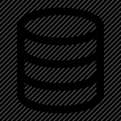 data, nontext, server, storage icon