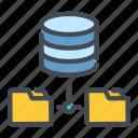 base, connection, data, database, file, folder, sync