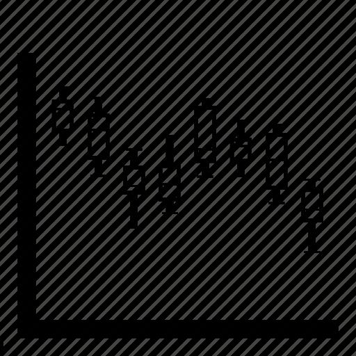 box plot, boxplot, chart, data, financial, graph, statistics icon