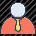 business, businessman, client, man icon