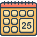 calendar, date, datepicker, schedule
