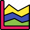 chart, data, graph, growth, statistics, stats icon