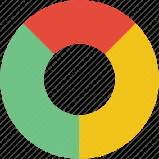 chart, data, doughnut, graph, statistics, stats icon