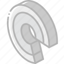 chart, graph, iso, isometric, ring icon