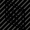 tile, graph, isometric, bar, iso