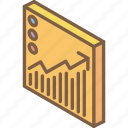tile, graph, isometric, growth, iso