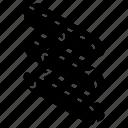 graph, growth, iso, isometric, lozenge icon