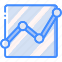 chart, data, graph, scatter, statistics, stats icon