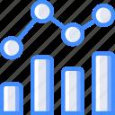bar, chart, data, graph, line, statistics, stats icon