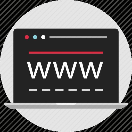 data, digital, nano, technology, web, wide, world icon