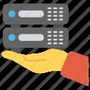 internet hosting, server hosting, shared hosting, shared web hosting, web hosting icon