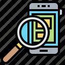 explore, find, investigate, search, solution icon