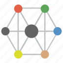 mesh network, mesh networking, network design, network diagram, network structure, network topology icon