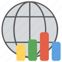 global data, global statistics, international statistics, internet world stats, world statistics database icon