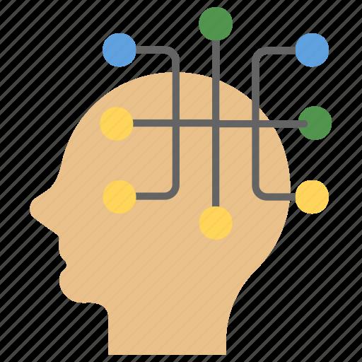 consideration, intelligent, philosophy, thinking, thought icon