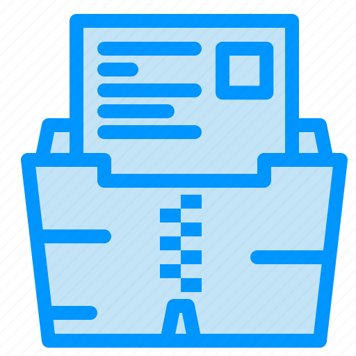 Data, document, file, folder, zip icon - Download on Iconfinder