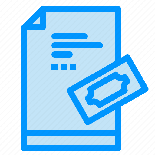 Note, pad, pass, ticket, tickets icon - Download on Iconfinder