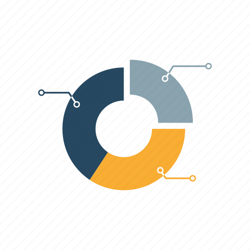 analysis, data, diagram, information, pie cart, seo, structure icon