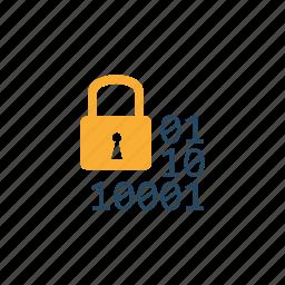 analysis, data, database, digital, information, security, storage icon