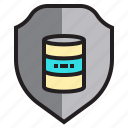 computer, data, database, network, security, server icon