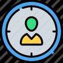 account, avatar, focus, people, person, profile, user