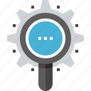 browser, explore, magnifier, optimization, search, seo, view