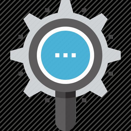 browser, explore, magnifier, optimization, search, seo, view icon