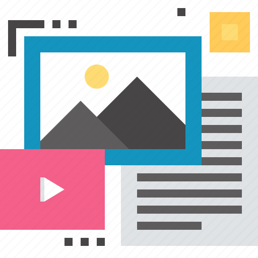 data, document, file, information, media, structure, unstructured icon