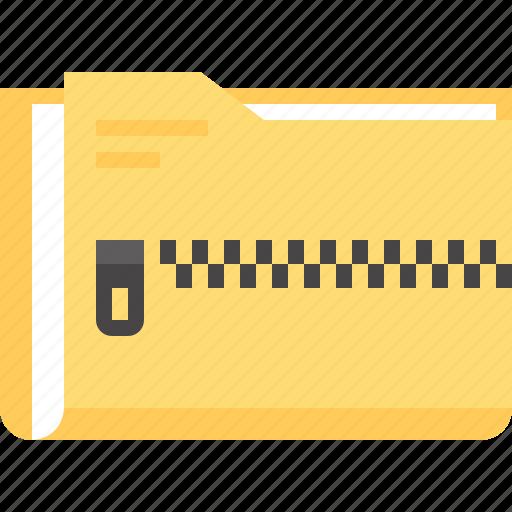 archive, data, document, file, folder, rar, zip icon
