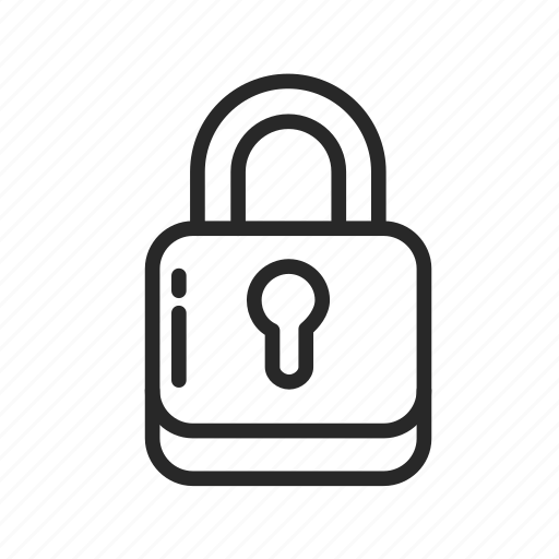 antivirus, data protection, keys, lock, password, security icon