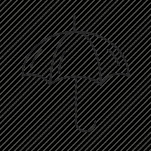 antivirus, data protection, rain, security, umbrella icon