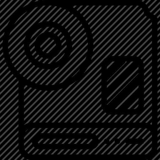 data, database, external, harddisk, server, storage icon