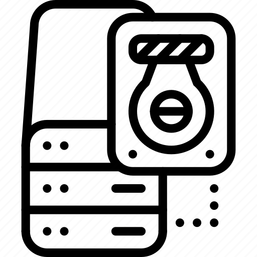 data, external, harddisk, server, storage icon
