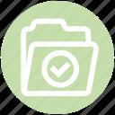 accept, archive, data, directory, folder, storage
