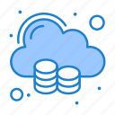 cloud, data, storage, big, space