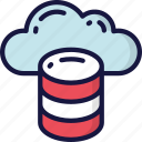 cloud, data, data science, information, storage icon