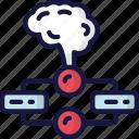 brain, data science, flowchart, list, order, process, smart