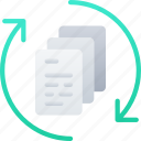 data, data science, file, files, process, processing icon