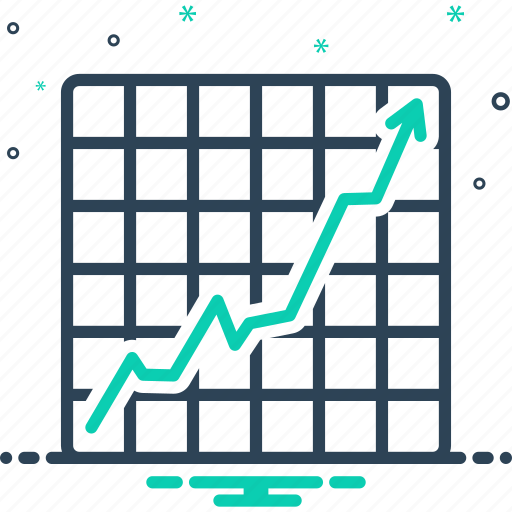 Achievement, chart, graph, increase, increasing stocks graphic, progress, success icon - Download on Iconfinder