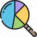 audit, data, data science, research, search, storage icon