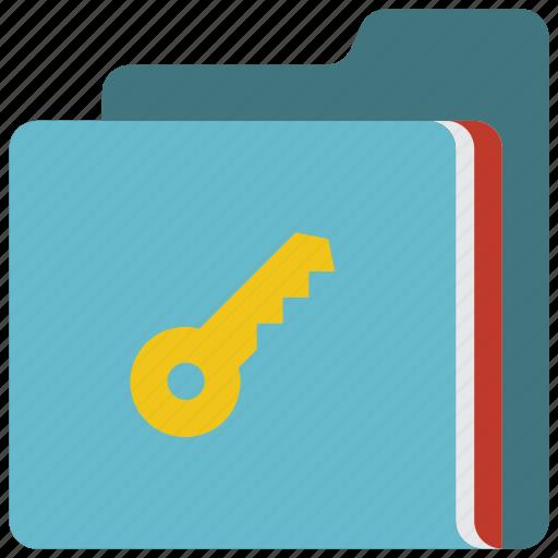 data, folder, key, secure, security icon