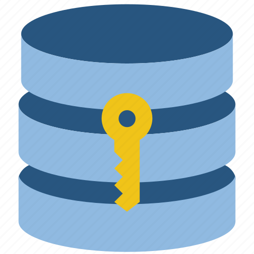 Data, database, key, security, secure icon - Download on Iconfinder
