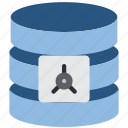 data, database, safe, security icon