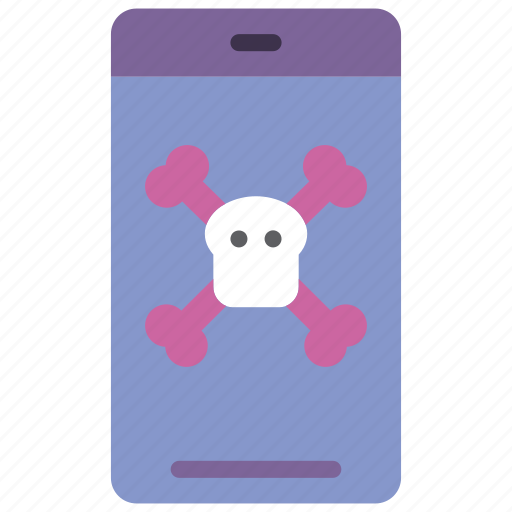 danger, data, phone, secure, security icon